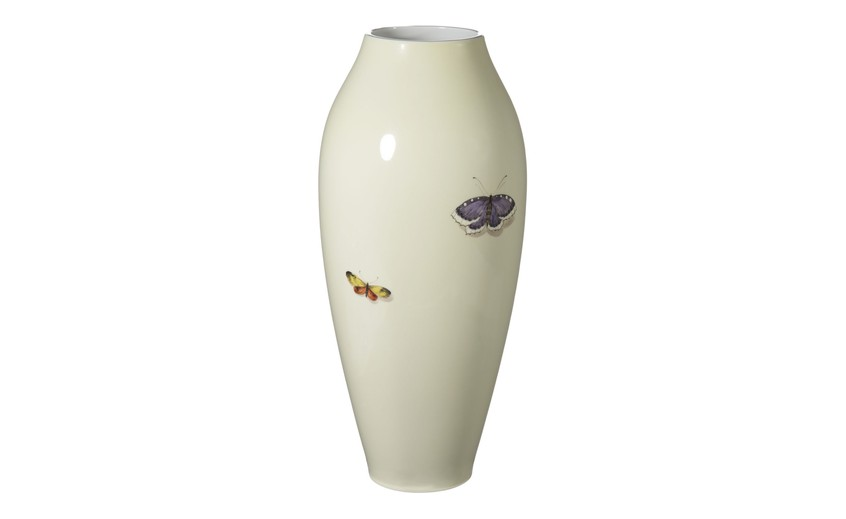 Nymphenburg Painted Vases Er Butler Co